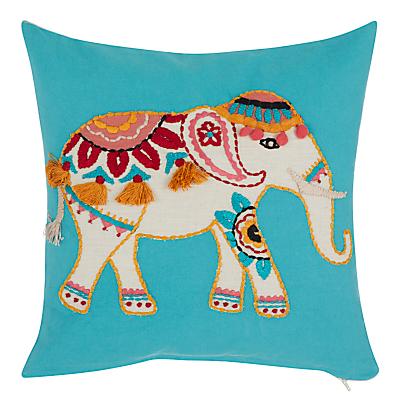 John Lewis Marigold Elephant Cushion