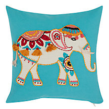 Buy John Lewis Marigold Elephant Cushion Online at johnlewis.com