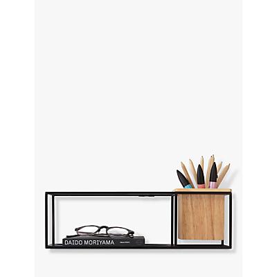 Umbra Cubist Small Shelf, Black