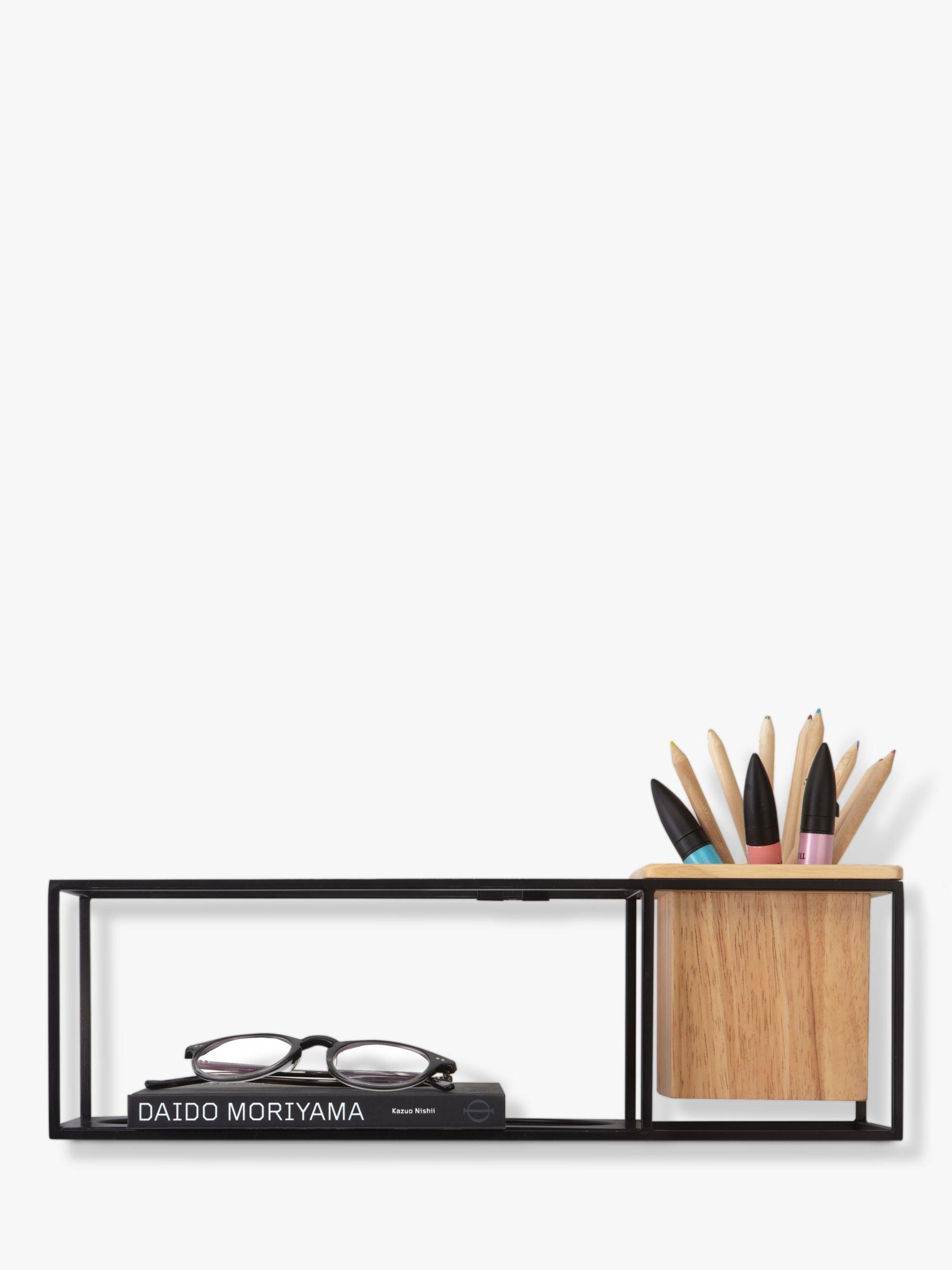 Umbra Umbra Cubist Small Shelf, Black