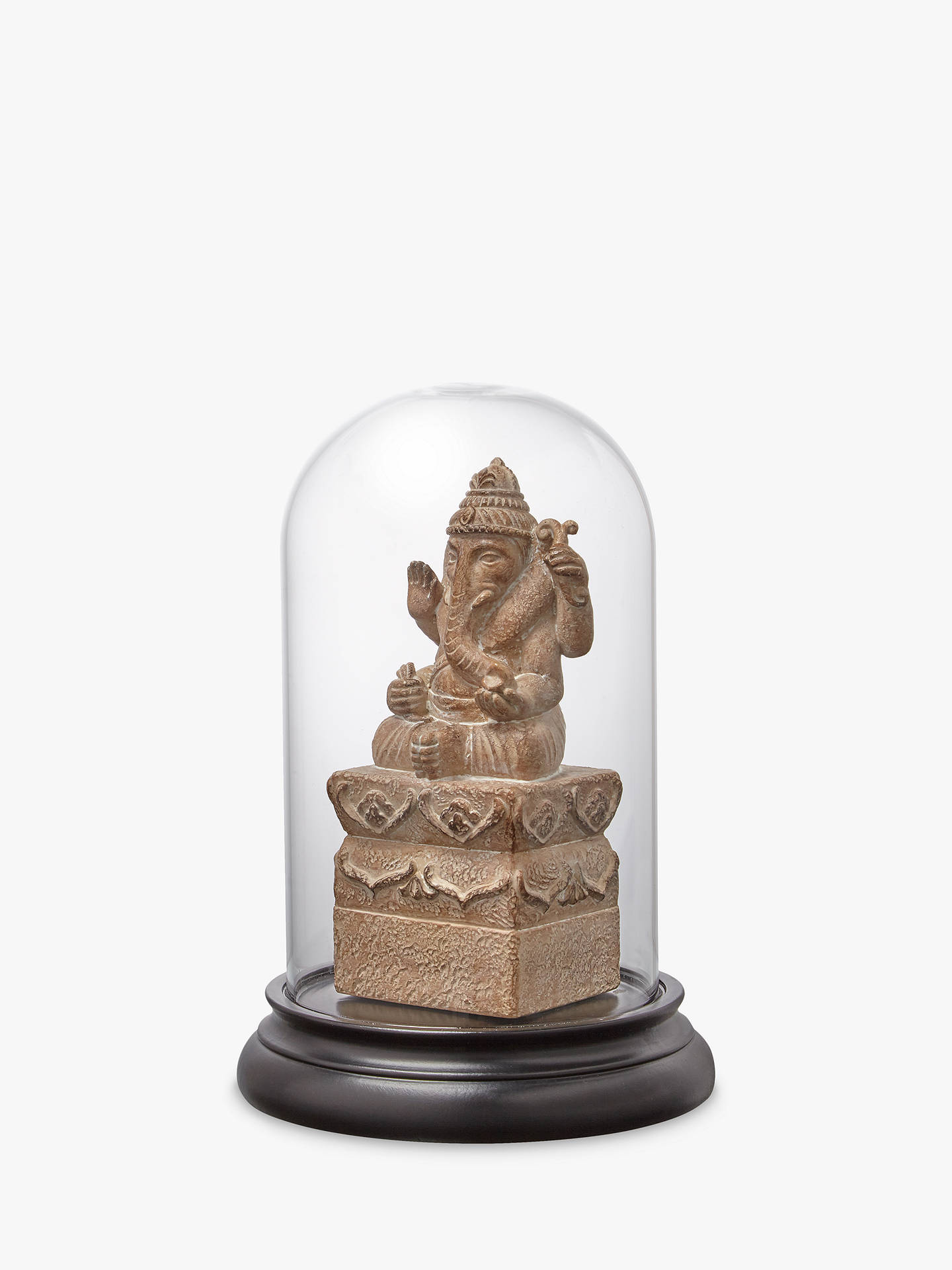 BuyJohn Lewis & Partners Ganesh In Glass Cloche, Small Online at johnlewis.com