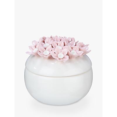 John Lewis Ceramic Floral Filled Candle