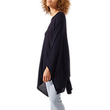 Buy Jigsaw Lightweight Draped Poncho Online at johnlewis.com