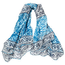 Buy East Alhambra Snood, White/Multi Online at johnlewis.com