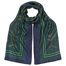 Buy East Savanna Print Scarf, Multi Online at johnlewis.com