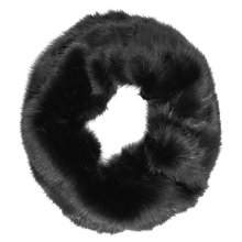 Buy Reiss Chester Faux Fur Snood, Slate Online at johnlewis.com