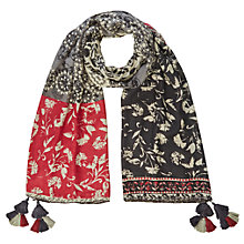 Buy White Stuff Desert Patchwork Scarf, Multi Online at johnlewis.com