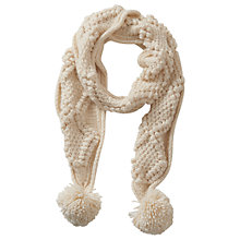Buy Betty Barclay Bridal Chunky Knit Scarf Online at johnlewis.com