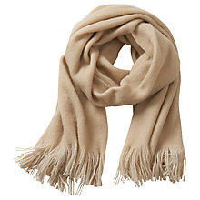 Buy Betty Barclay Reversible Scarf, Nature/Cream Online at johnlewis.com