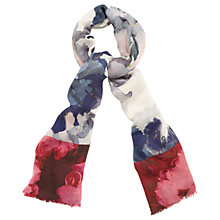 Buy Phase Eight Davinia Print Scarf, Multi Online at johnlewis.com