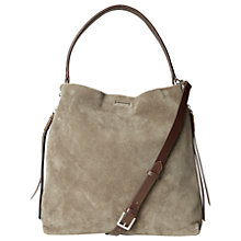 Buy White Stuff Shea Nubuck Leather Hobo Bag Online at johnlewis.com