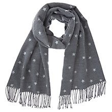 Buy Mint Velvet Granite Star Blanket Scarf Online at johnlewis.com