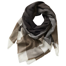 Buy Betty Barclay Large Blanket Scarf, Grey/Nature Online at johnlewis.com