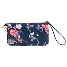 Buy Oasis Kimono Printed Mini Cross Body Bag, Multi/Black Online at johnlewis.com