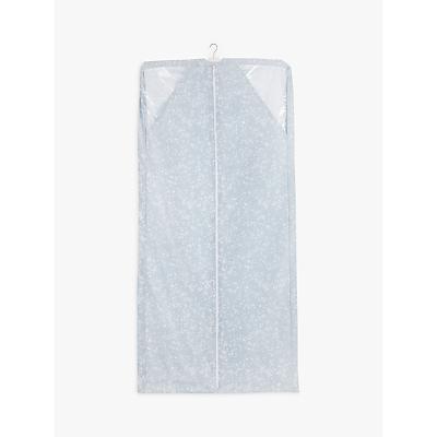 John Lewis & Partners Floral Garment Cover, Grey Light