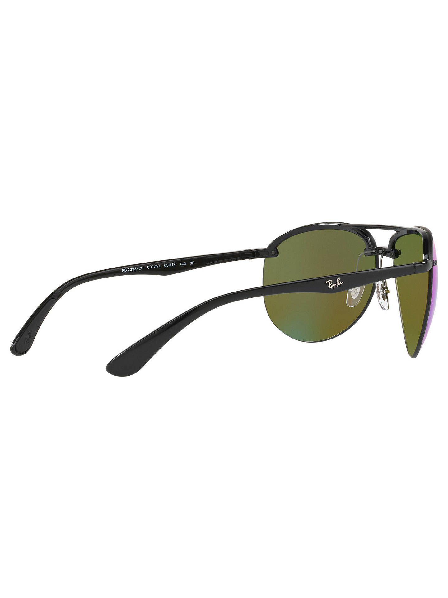 69a2d25d19c Ray-Ban RB4293CH Chromance Polarised Aviator Sunglasses at John ...