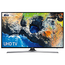 "Buy Samsung UE50MU6120 HDR 4K Ultra HD Smart TV, 50"" with TVPlus, Black Online at johnlewis.com"