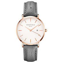 Buy ROSEFIELD Women's September Issue Art Director Date Leather Strap Watch Online at johnlewis.com