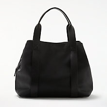 Buy Kin by John Lewis Erika Workwear Shoulder Bag, Black Online at johnlewis.com