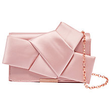 Buy Ted Baker FeFee Knot Bow Evening Bag Online at johnlewis.com