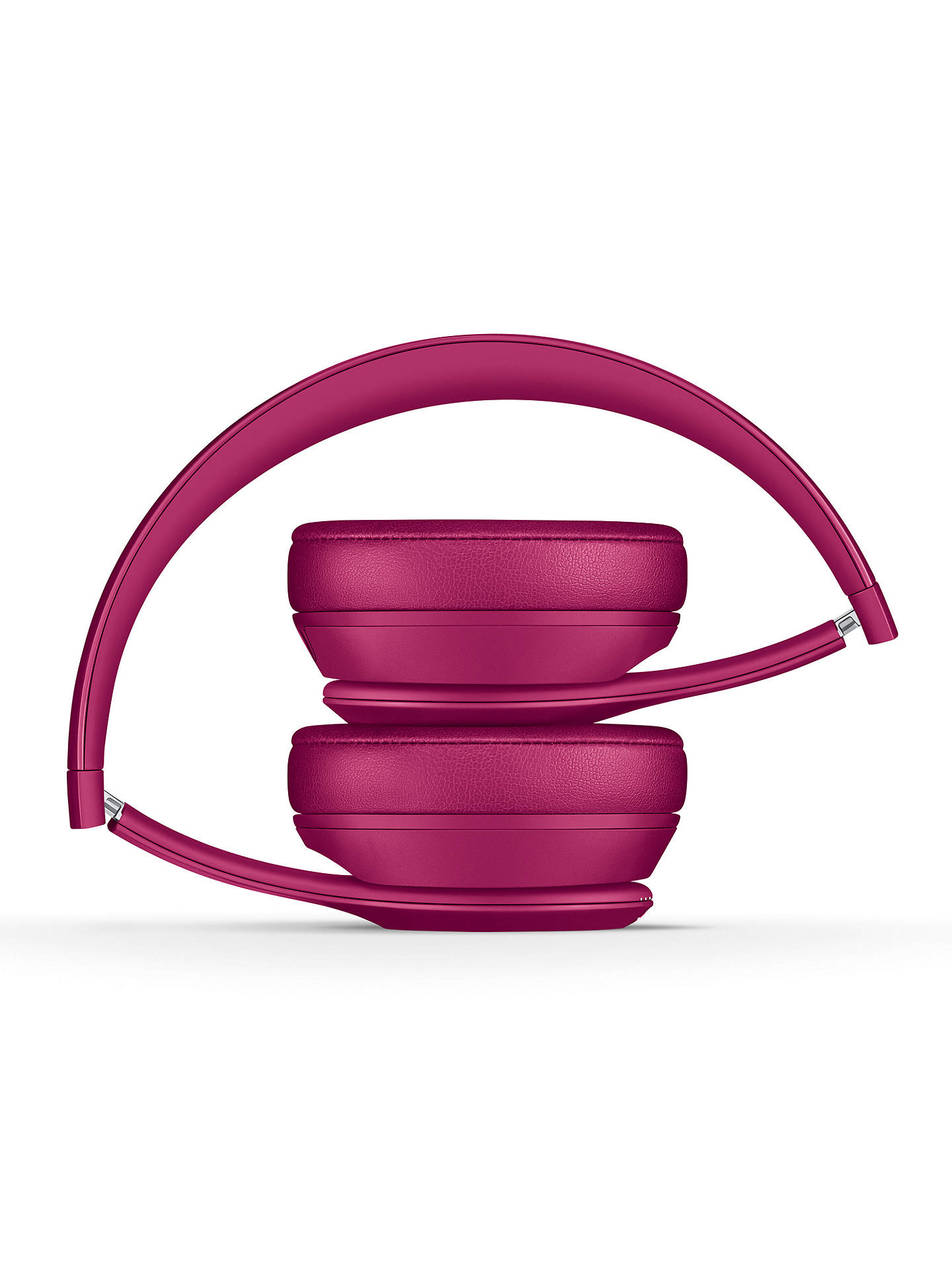 Buy Beats Solo³ Wireless Bluetooth On-Ear Headphones with Mic/Remote, Neighbourhood Collection, Brick Red Online at johnlewis.com