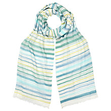 Buy East Alhambra Stripe Scarf, Multi Online at johnlewis.com