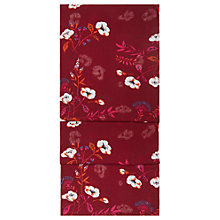 Buy Hobbs Louise Scarf, Merlot/Multi Online at johnlewis.com