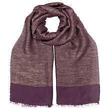 Buy East Lurex Scarf Online at johnlewis.com