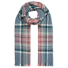 Buy Brora Cashmere Plaid Scarf Online at johnlewis.com