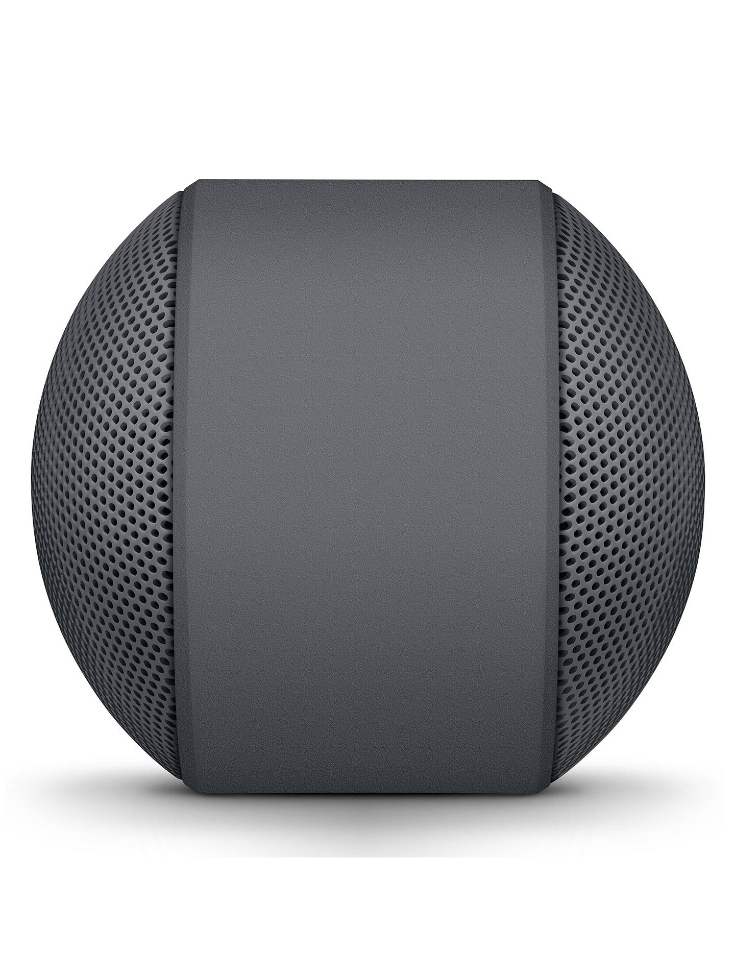 Buy Beats Pill+ Portable Bluetooth Speaker With Microphone, Neighbourhood Collection, Asphalt Grey Online at johnlewis.com
