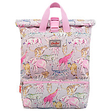 Buy Cath Kids Children's Safari Animal Expandable Backpack, Pink Online at johnlewis.com