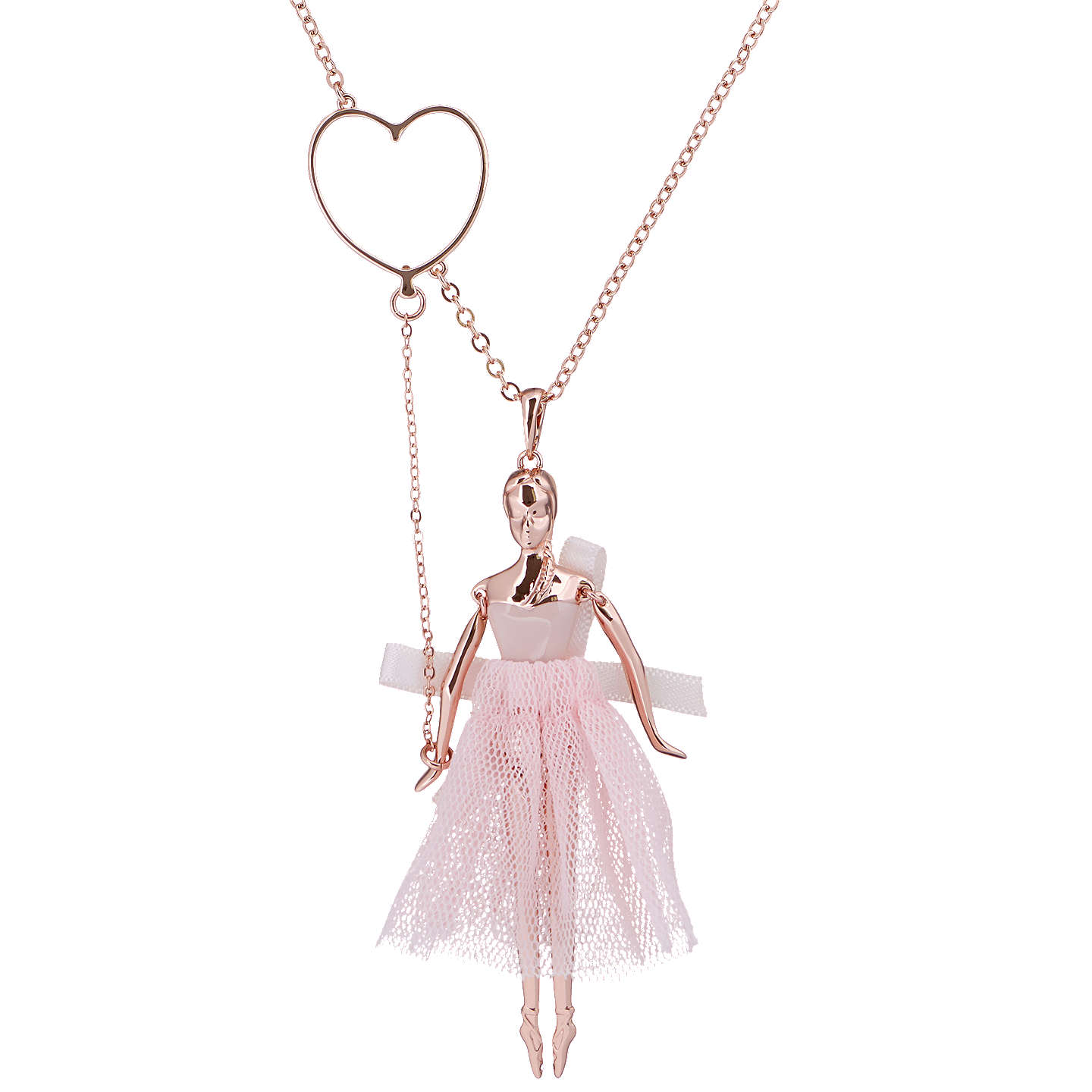 Ted baker bevlee balloon ballerina pendant necklace rose gold at buyted baker bevlee balloon ballerina pendant necklace rose gold online at johnlewis mozeypictures Image collections