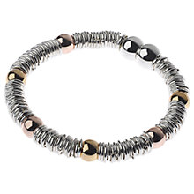Buy Adele Marie Mesh Rope Beaded Magnetic Clasp Bracelet, Multi Online at johnlewis.com