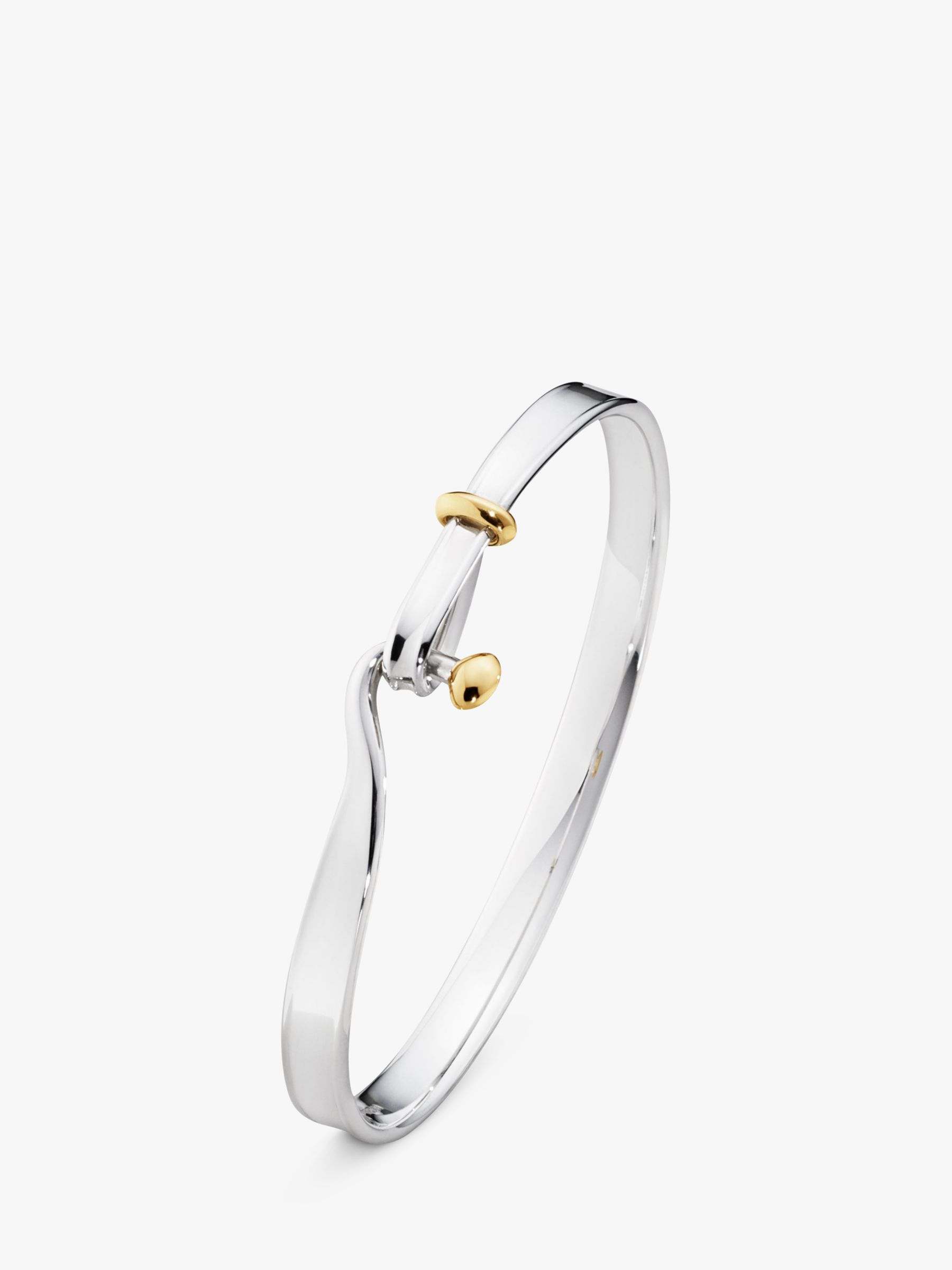 Georg Jensen Georg Jensen Torun Bangle, Silver/Gold