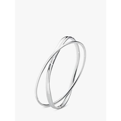 Georg Jensen Marcia Double Bracelet, Silver