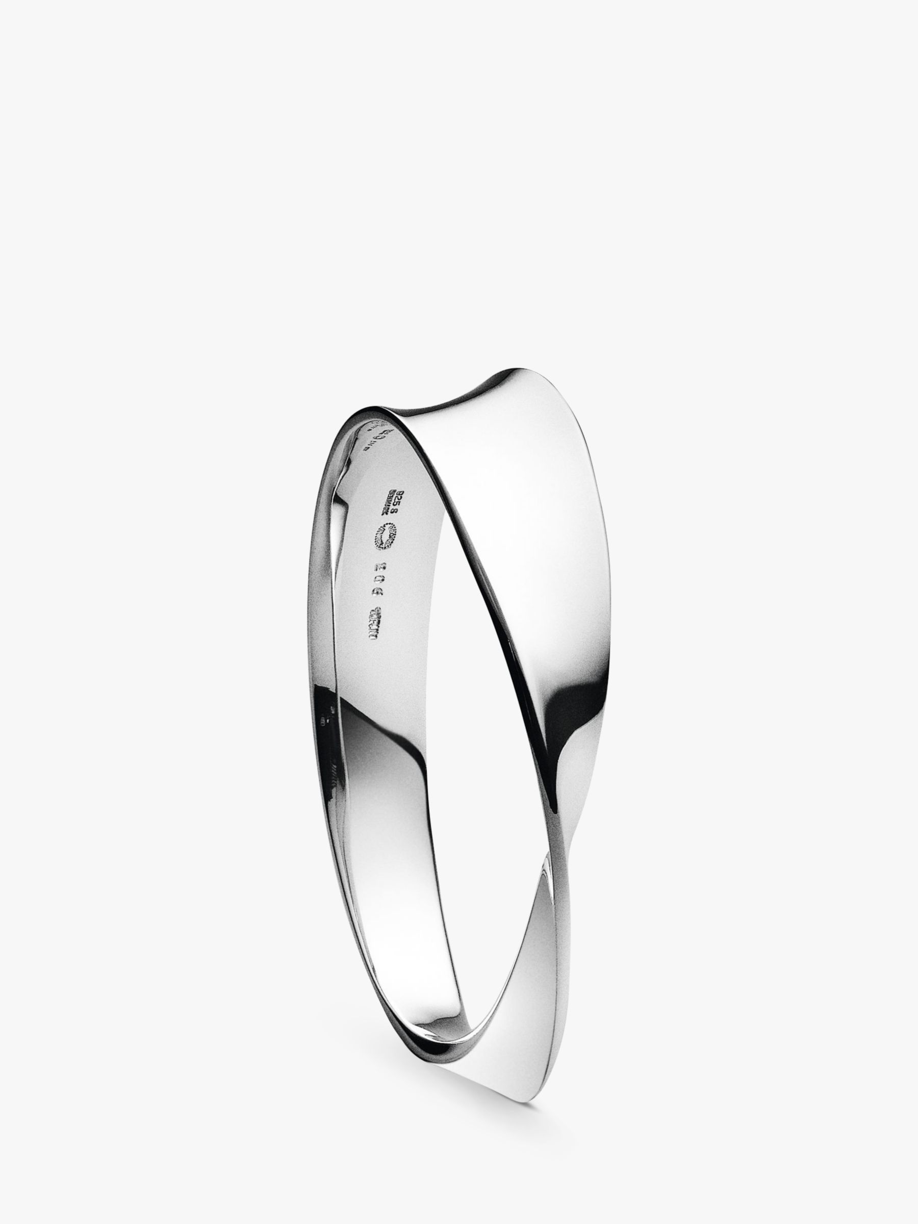 Georg Jensen Georg Jensen Möbius Bangle, M/L, Silver