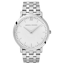 Buy Larsson & Jennings Unisex Lugano Bracelet Strap Watch Online at johnlewis.com