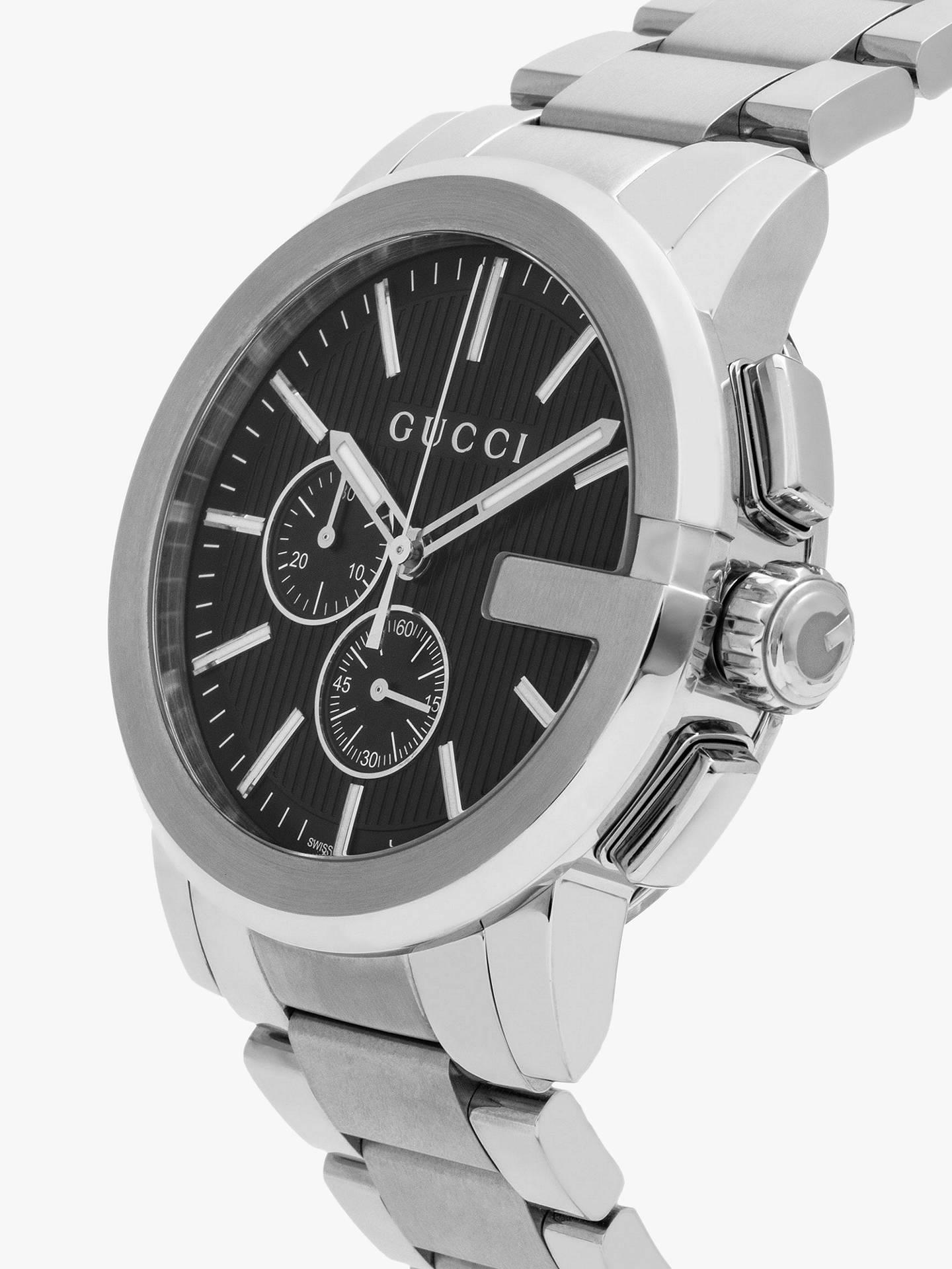 d7d6f371add ... Buy Gucci YA101204 Men s G-Chrono Chronograph Bracelet Strap Watch