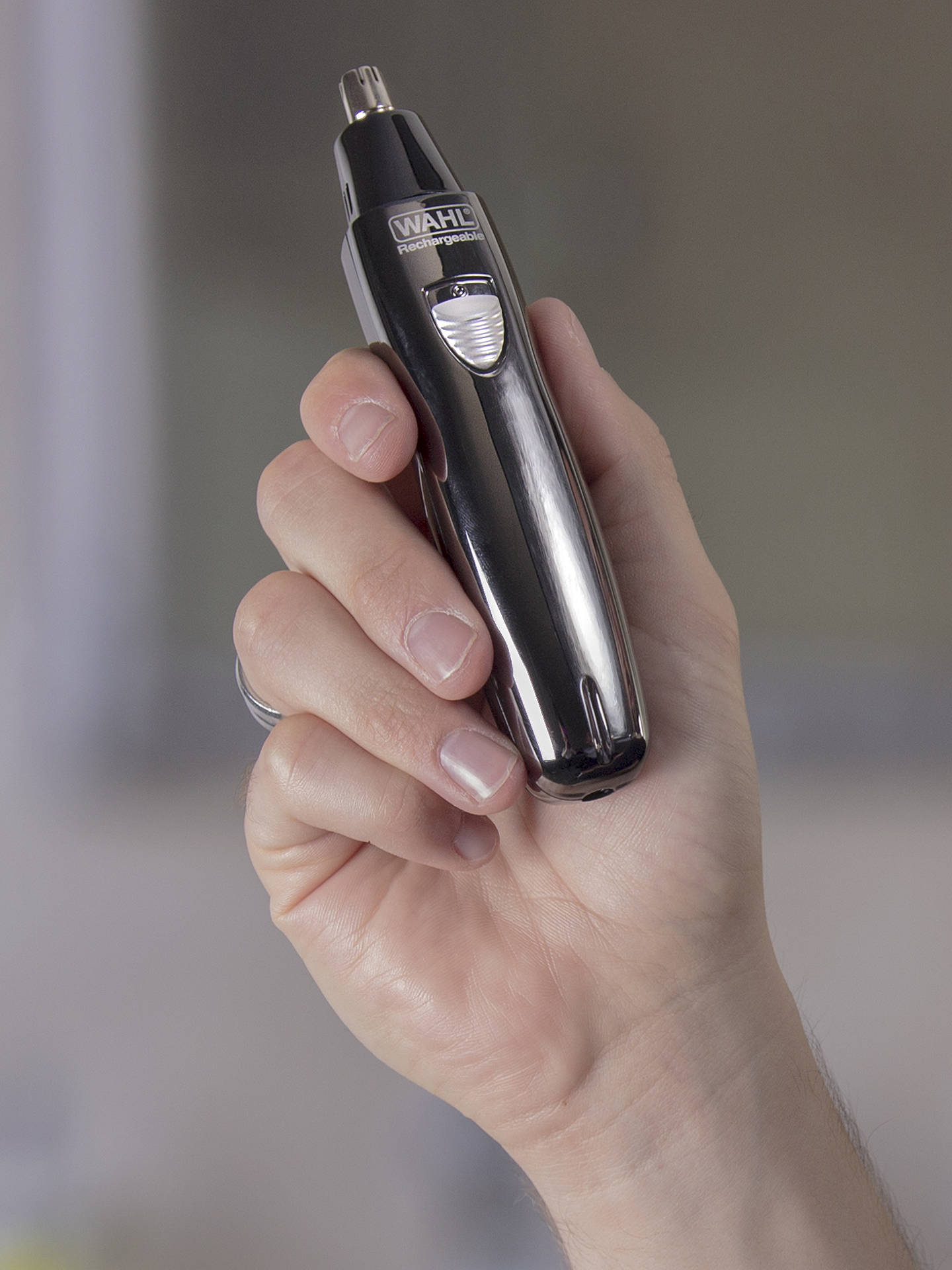 Buy Wahl Ear, Nose and Brow Rechargeable Trimmer, Black Online at johnlewis.com