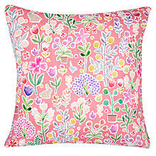Buy little home at John Lewis Country Fairies Print Cushion Online at johnlewis.com
