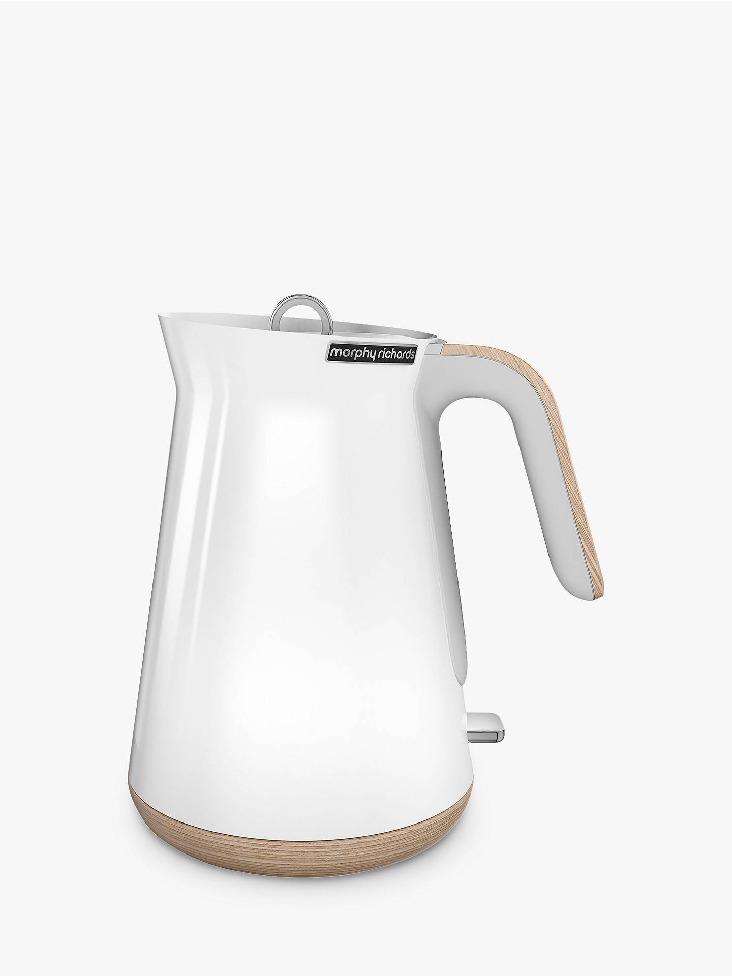 Morphy Richards Aspect Kettle White Wood At John Lewis
