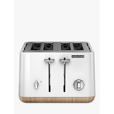 Morphy Richards Aspect 4 Slice Toaster, White