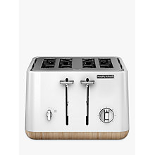 Buy Morphy Richards Aspect 4 Slice Toaster, White Online at johnlewis.com