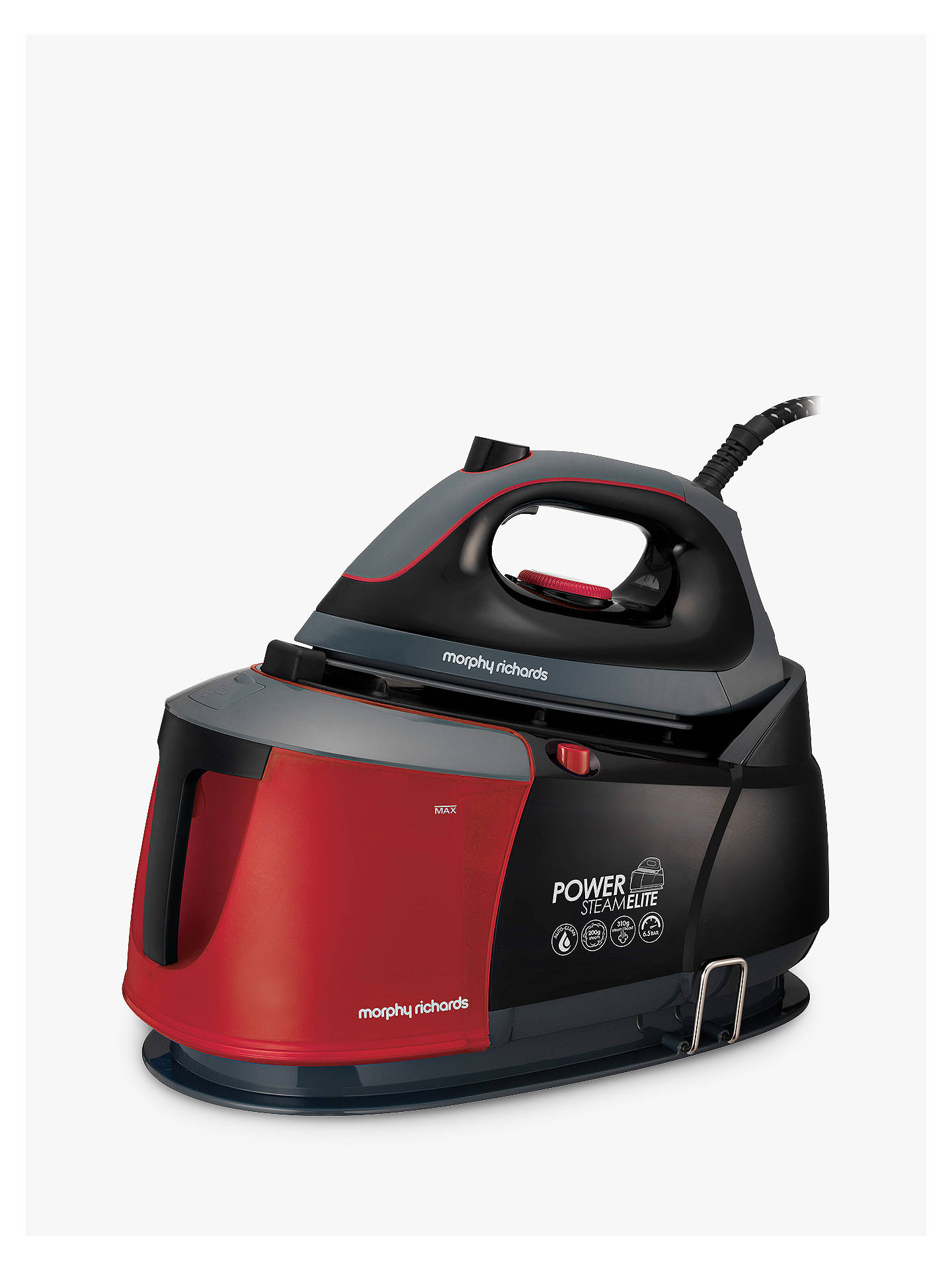 morphy richards auto clean power steam elite steam. Black Bedroom Furniture Sets. Home Design Ideas