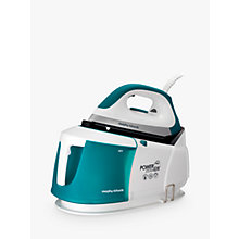 Buy Morphy Richards Elite Steam Generator Iron, Green Online at johnlewis.com