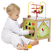 Buy Janod Wooden Maxi Spiral Looping Toy Online at johnlewis.com