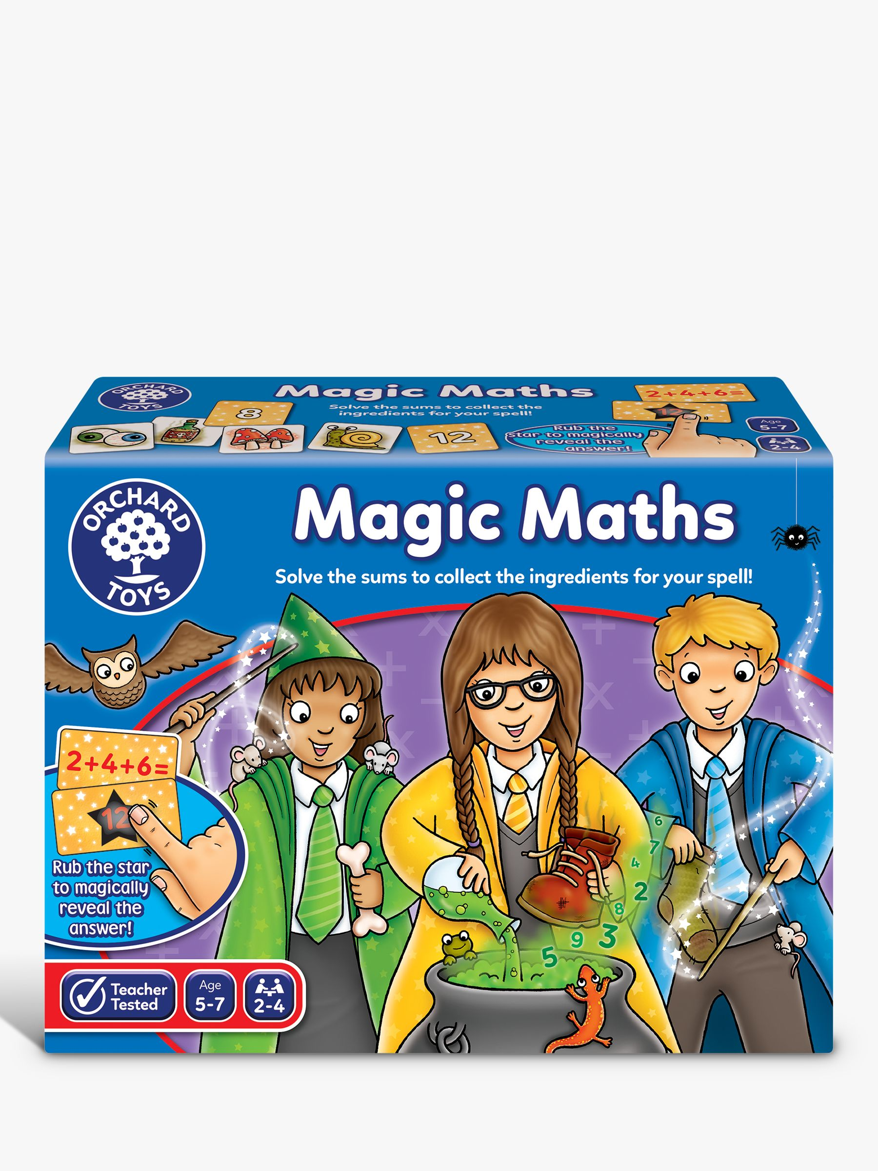 Orchard Toys Orchard Toys Magic Maths Numbers Game