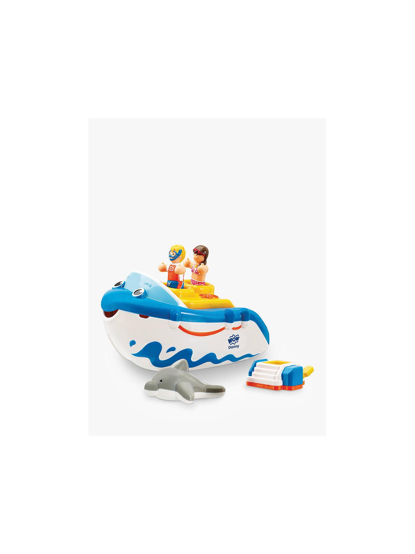 SMALL WORLD TOYS PRESCHOOL Danny The Dolphin Childrens Bathtub Toy