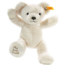 Buy Steiff My First Teddy Bear, Blond Online at johnlewis.com