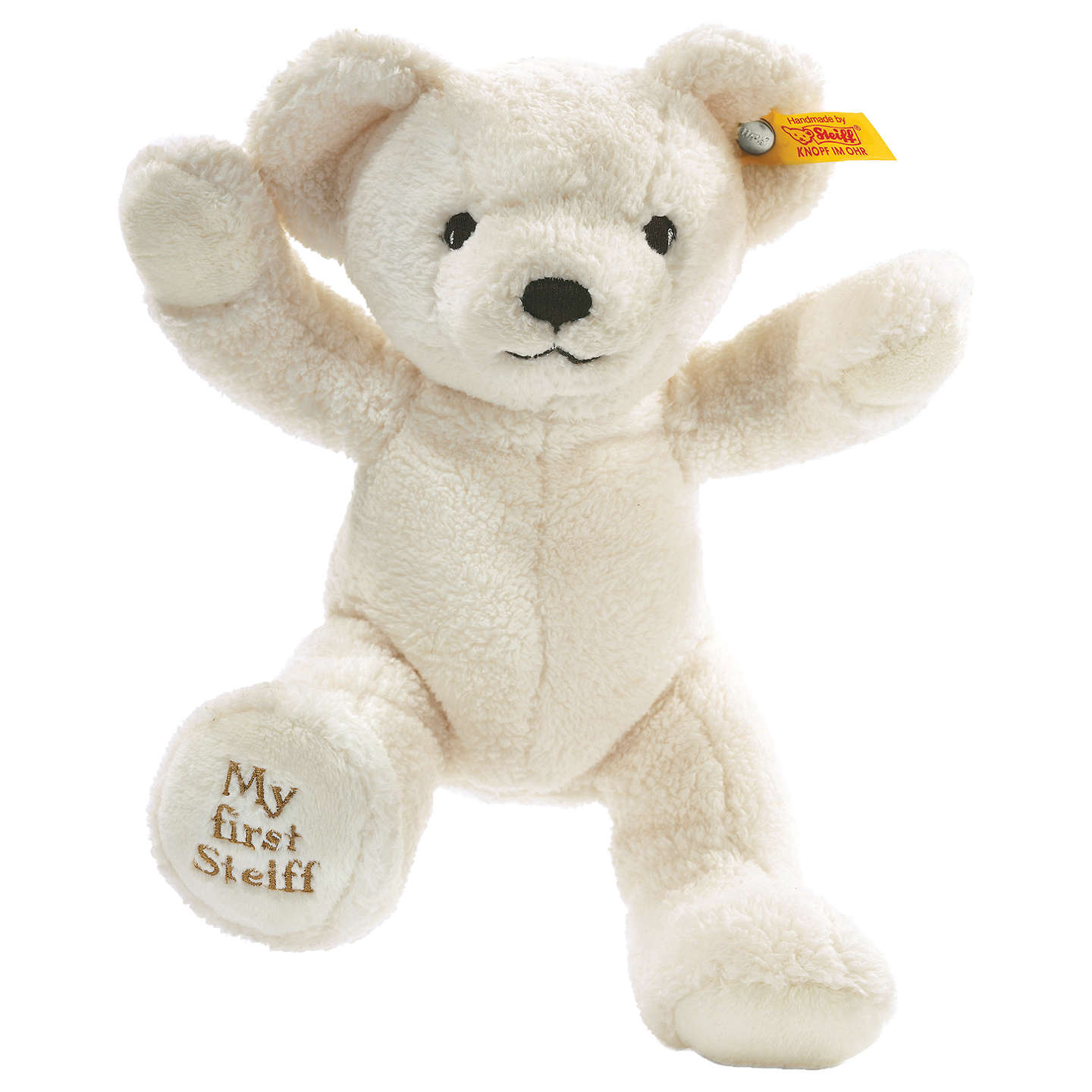 BuySteiff My First Teddy Bear, Blond Online at johnlewis.com